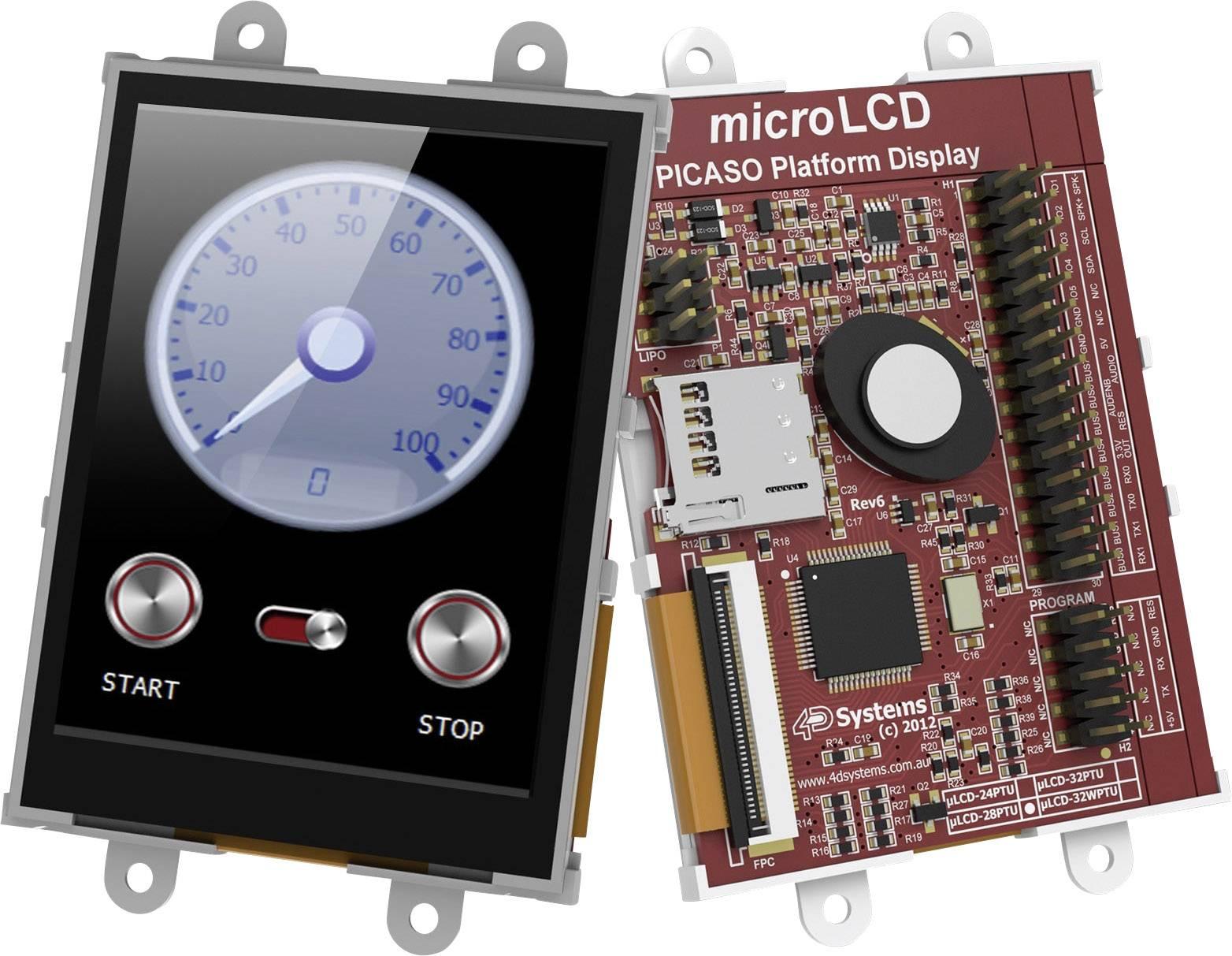 Vývojová deska 4D Systems uLCD-28PTU