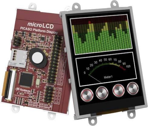 Vývojová deska 4D Systems uLCD-32PTU