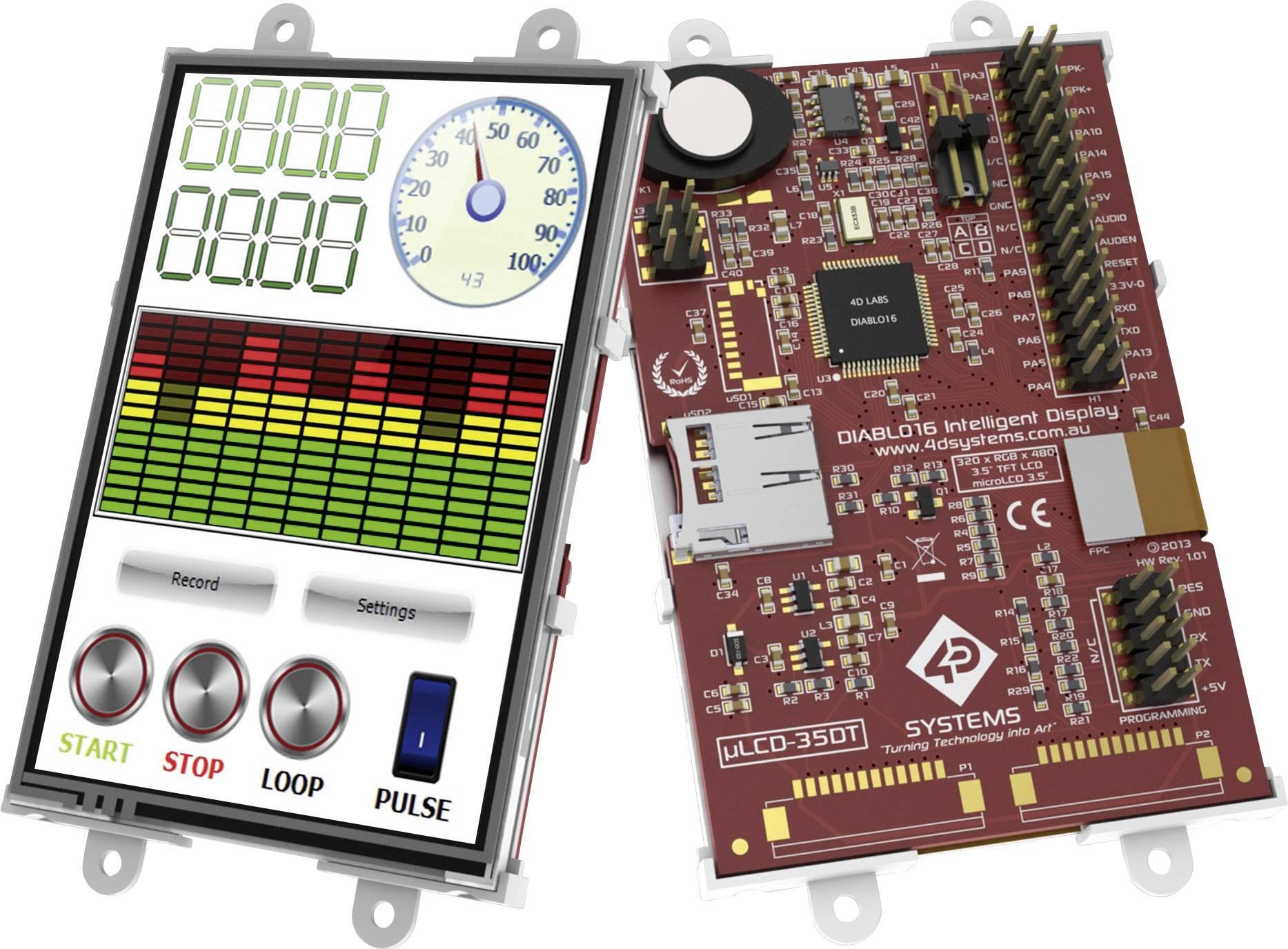 Vývojová deska 4D Systems uLCD-35DT