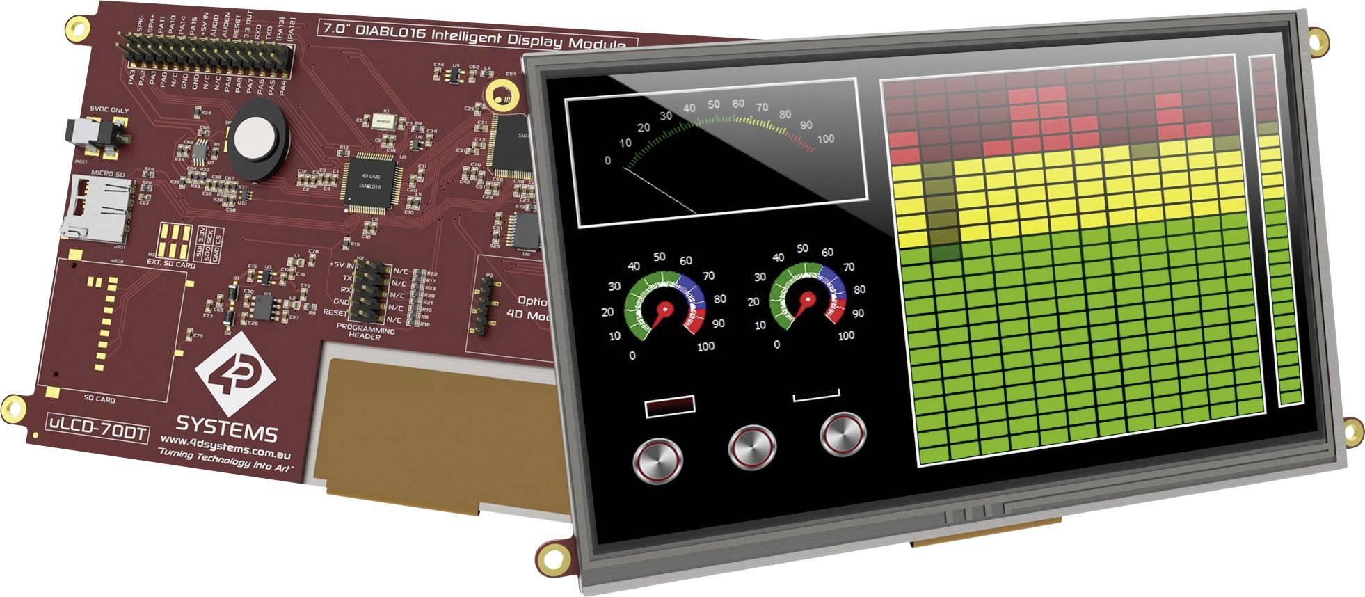Vývojová deska 4D Systems uLCD-70DT