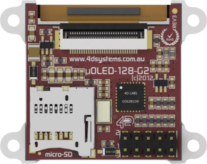 Vývojová deska 4D Systems SK-128-G2