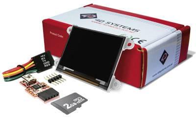 Vývojová deska 4D Systems SK-160-G2