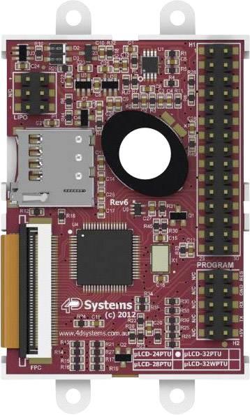 Vývojová deska 4D Systems SK-24PTU