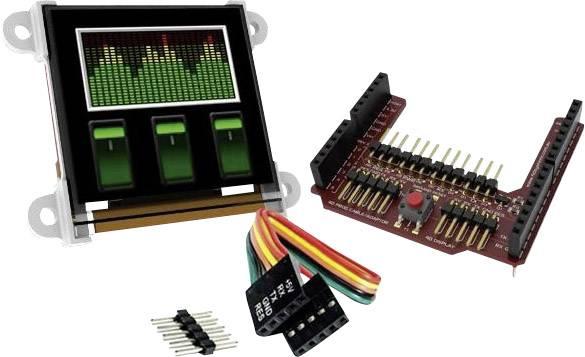 Vývojová deska 4D Systems uOLED-128-G2-AR
