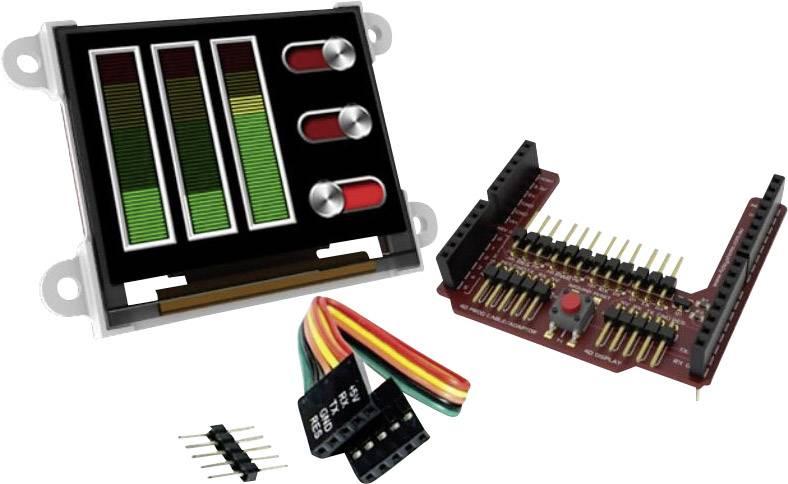 Vývojová deska 4D Systems uOLED-160-G2-AR