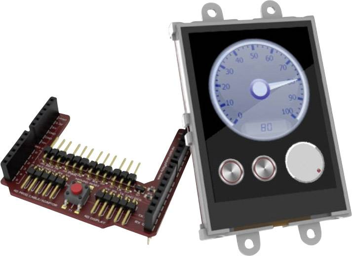 Vývojová deska 4D Systems uLCD-24PTU-AR