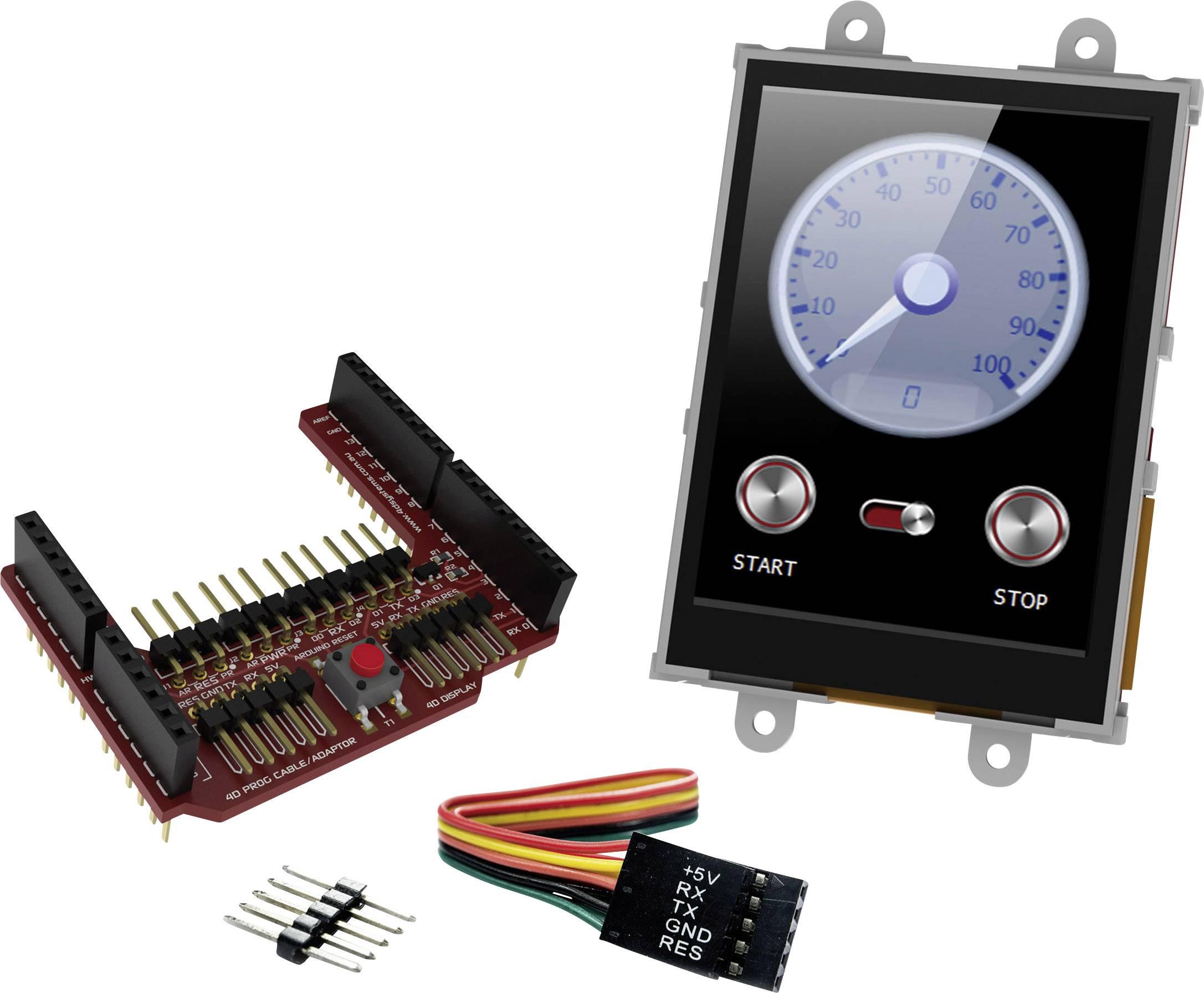 Vývojová deska 4D Systems uLCD-28PTU-AR