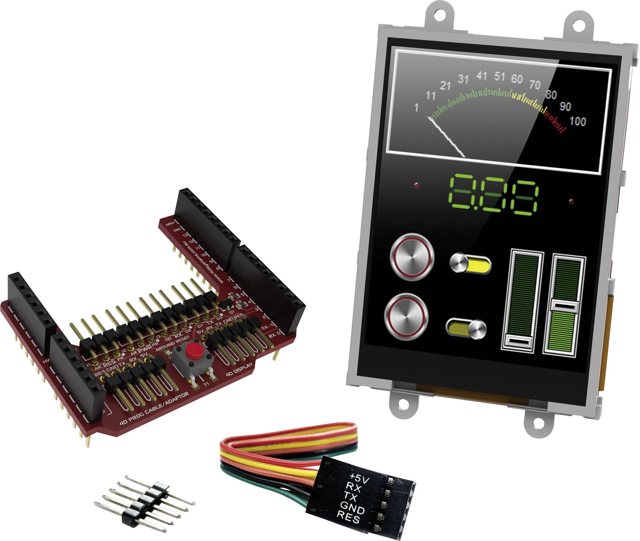 Vývojová deska 4D Systems uLCD-32PTU-AR