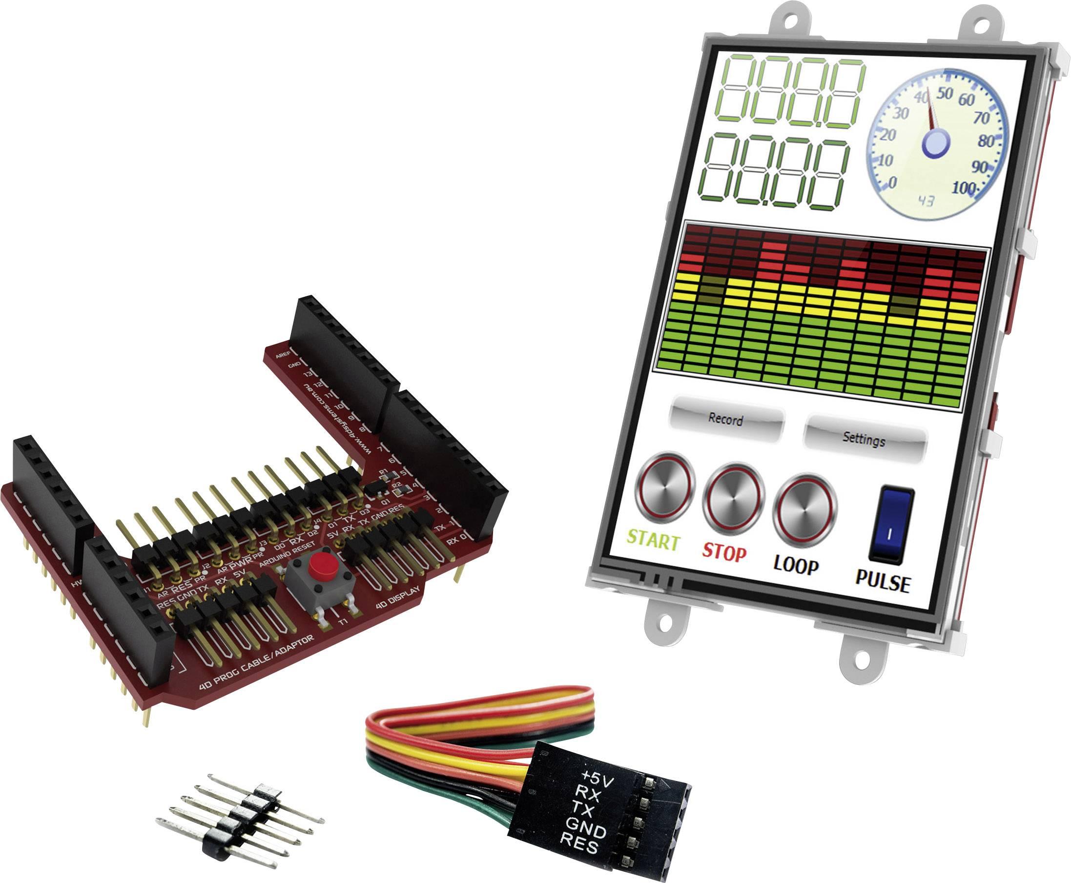 Vývojová deska 4D Systems uLCD-35DT-AR