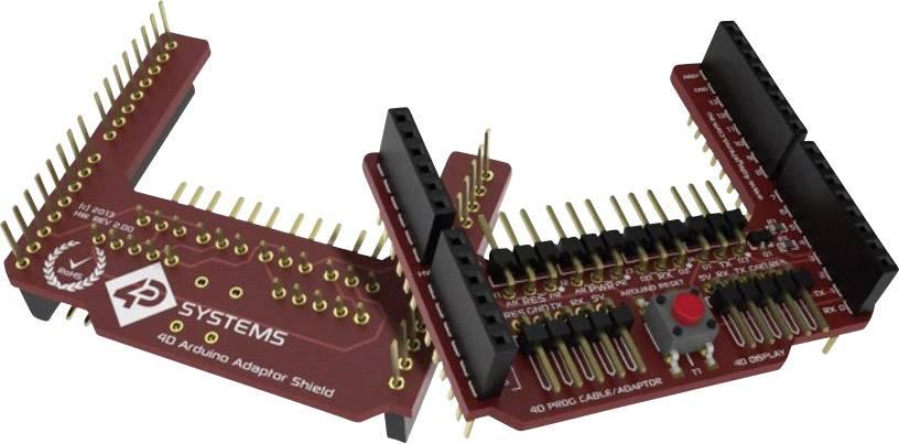 Vývojová deska 4D Systems 4D Arduino Adaptor Shield II