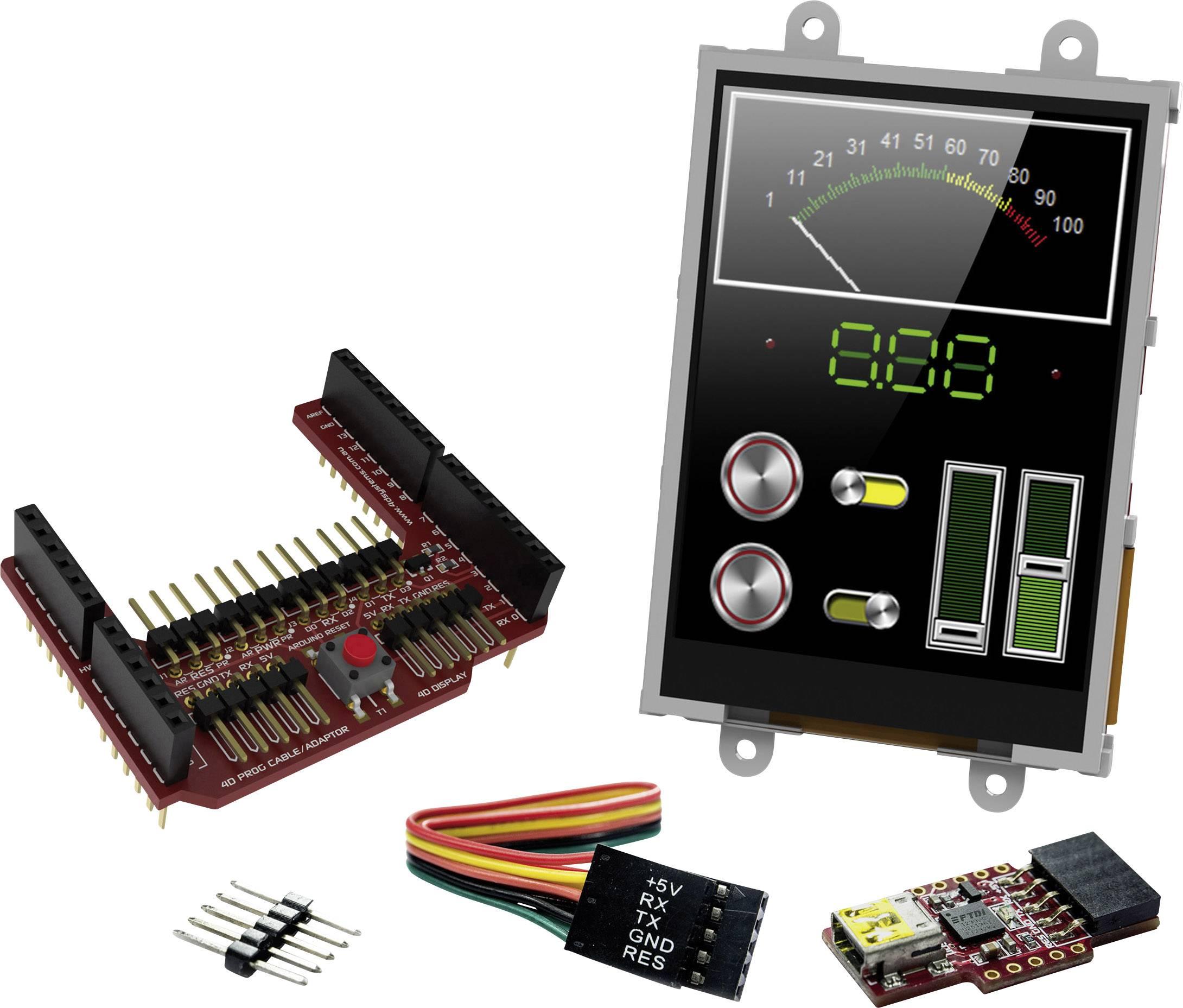 Vývojová deska 4D Systems SK-32PTU-AR