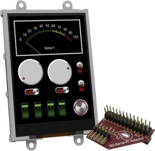 Vývojová deska 4D Systems uLCD-32PTU-Pi