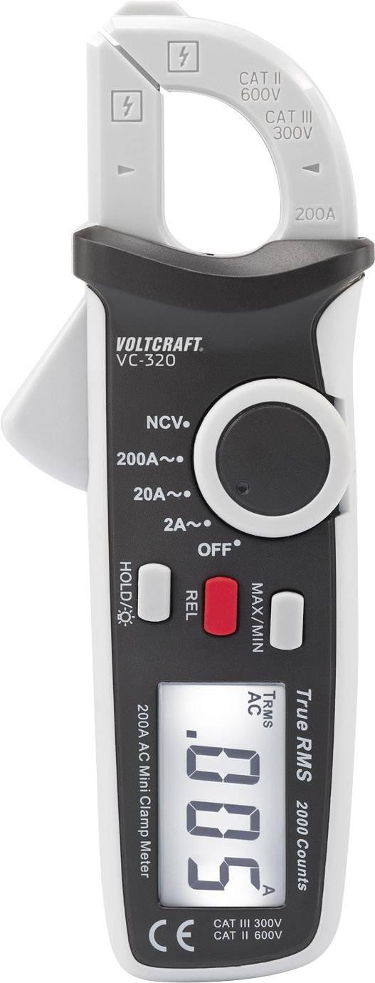 Kliešťový ampérmeter Voltcraft VC-320
