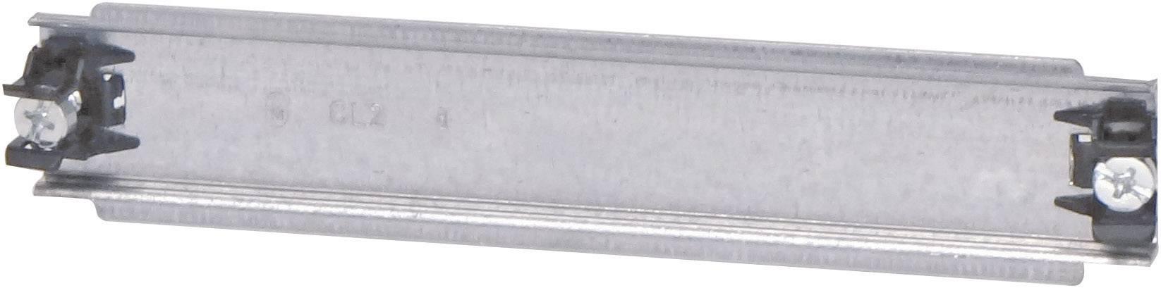 Koľajnica Eaton CL2, 187.5 mm, oceľový plech, 1 ks