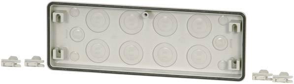 Přírubová deska Eaton FL4-4, s výkrojem, 23 mm, šedá, 1 ks