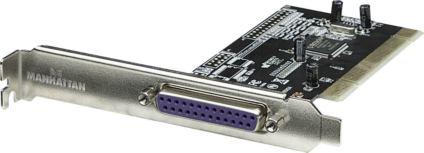 PCI paralelní zásuvná karta Manhattan 158220, 1 port
