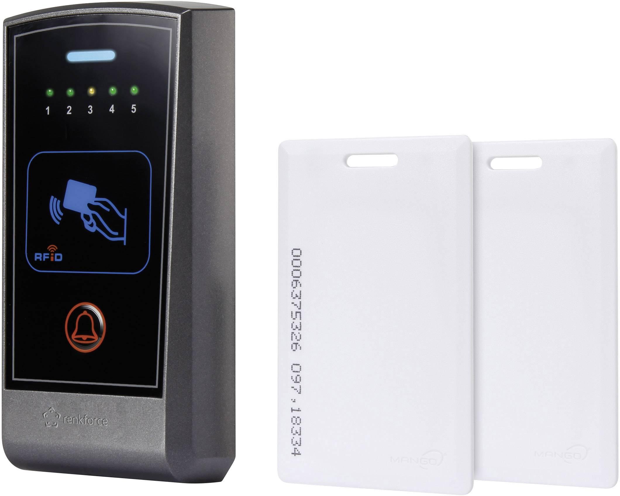 Prístupový systém s transpordérmi Renkforce AR-2808, na omietku, 12 V/DC, IP55