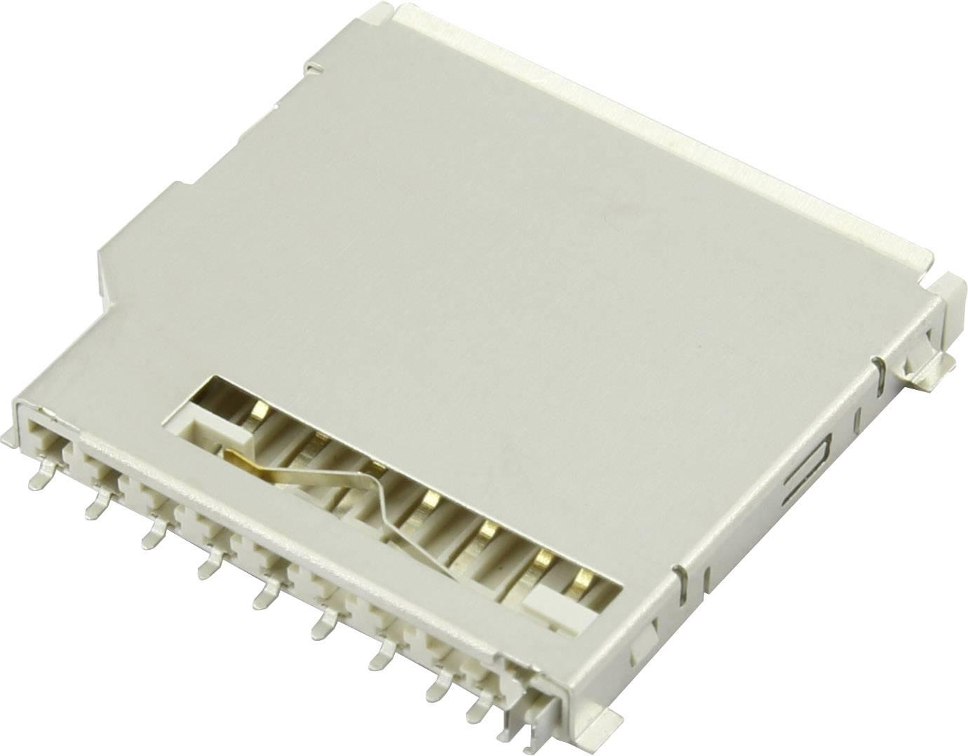 Zásuvka na kartu SD Attend 104C-TAA0-R, 1 ks