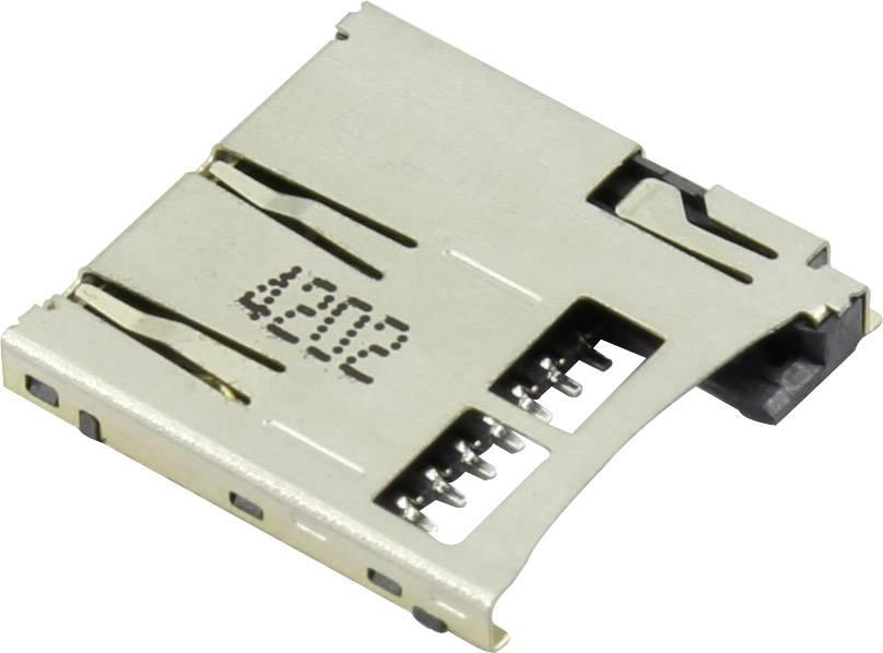 Zásuvka na kartu microSD Attend 112A-TAAR-R03, 1 ks