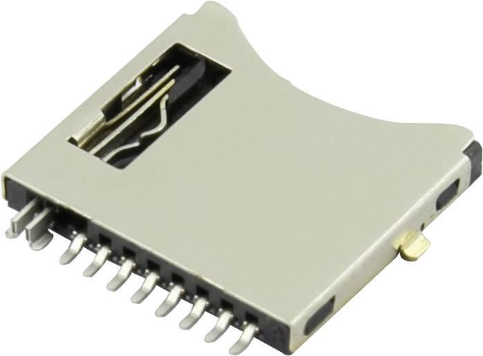 Zásuvka na kartu microSD Attend 112I-TDAR-R, 1 ks