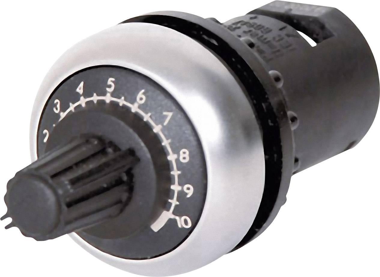 Otočný potenciometer mono Eaton M22S-R100K M22S-R100K, 0.5 W, 100 kOhm, 1 ks