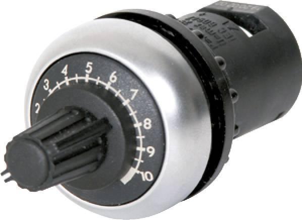 Otočný potenciometr Eaton M22-R100K Mono, 0.5 W,100 kOhm, 1 ks