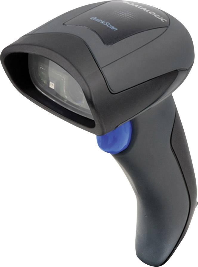 Ruční skener čárových kódů DataLogic QuickScan I QD2430 QD2430-BKK1, Imager, USB, černá