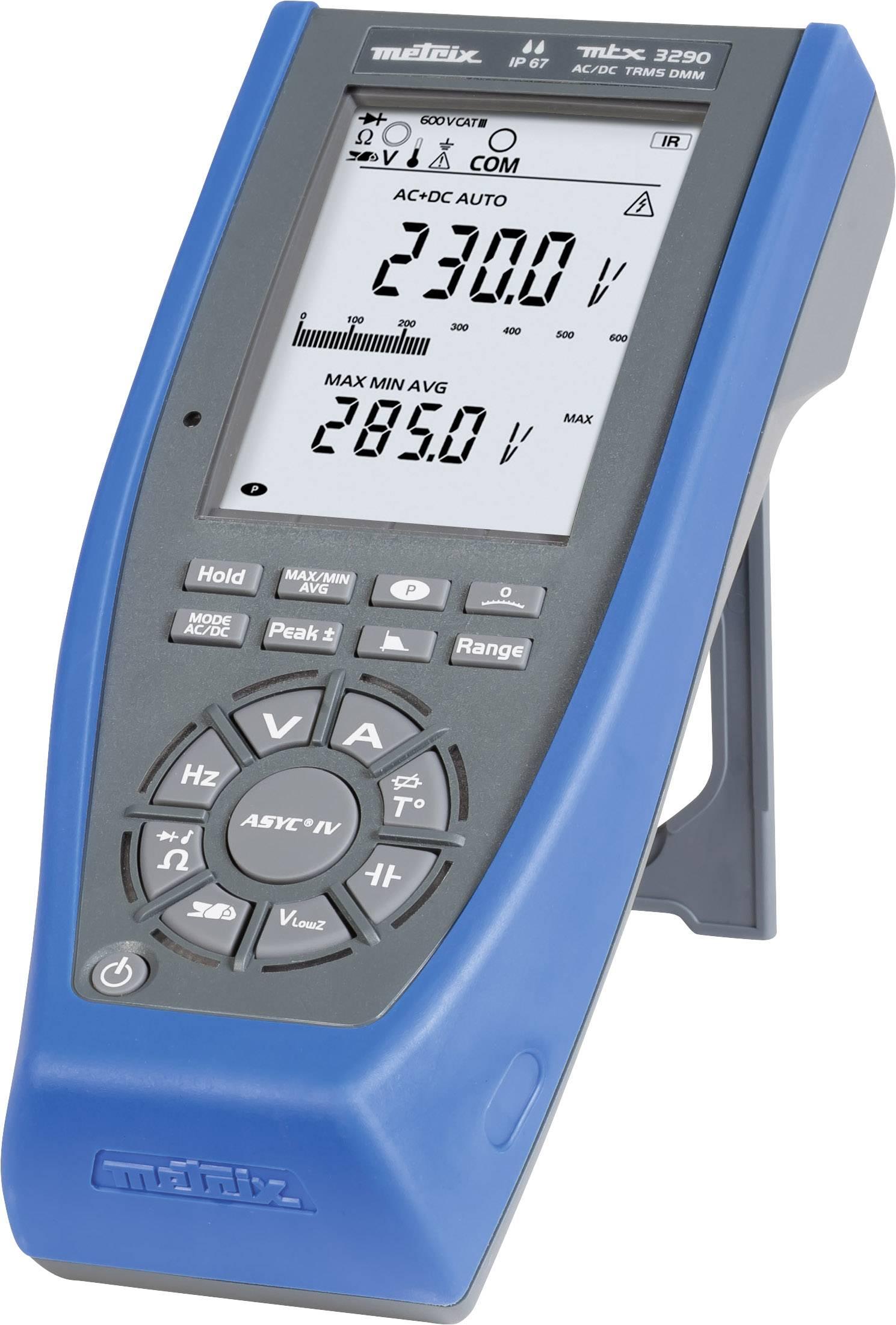 Ručný multimeter Metrix MTX3290