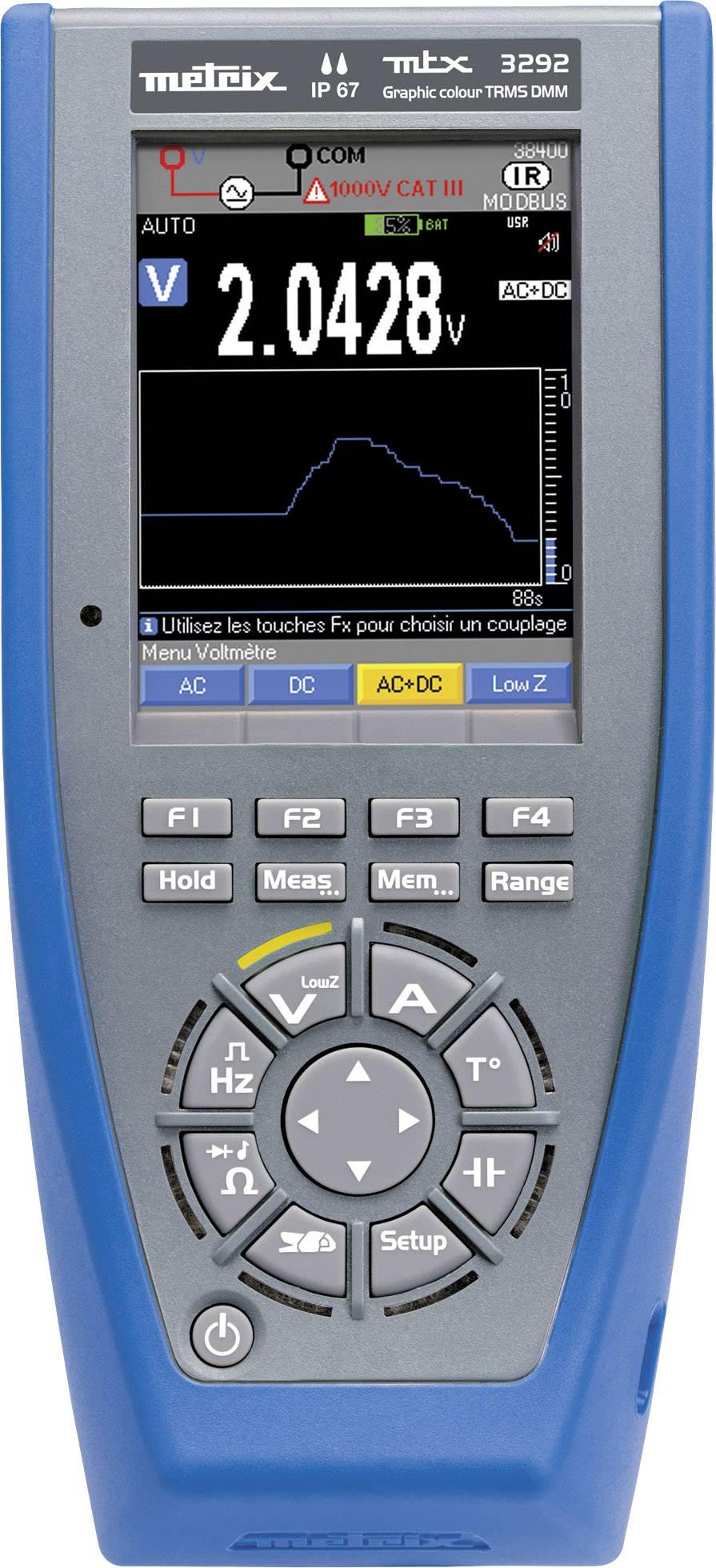 Ručný multimeter Metrix MTX3292-BT