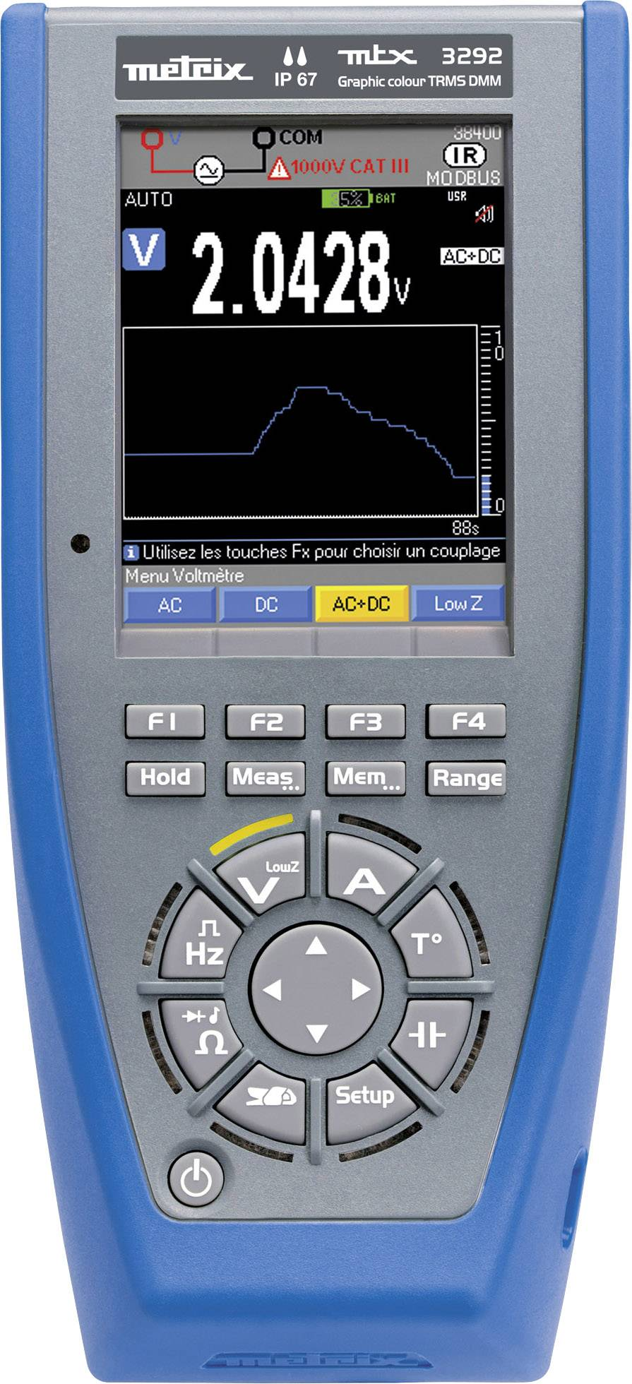 Ručný multimeter Metrix MTX3292