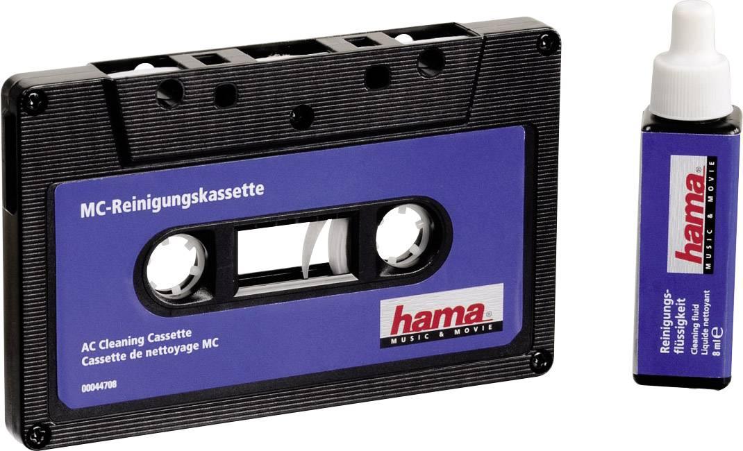Čistiaca magnetofónová kazeta Hama Audioclean 00044708, 20 ml