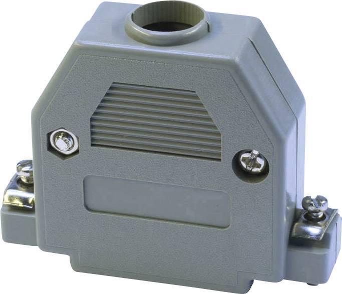 D-SUB pouzdro econ connect PH25, Pólů: 25, plast, 180 °, šedá, 1 ks