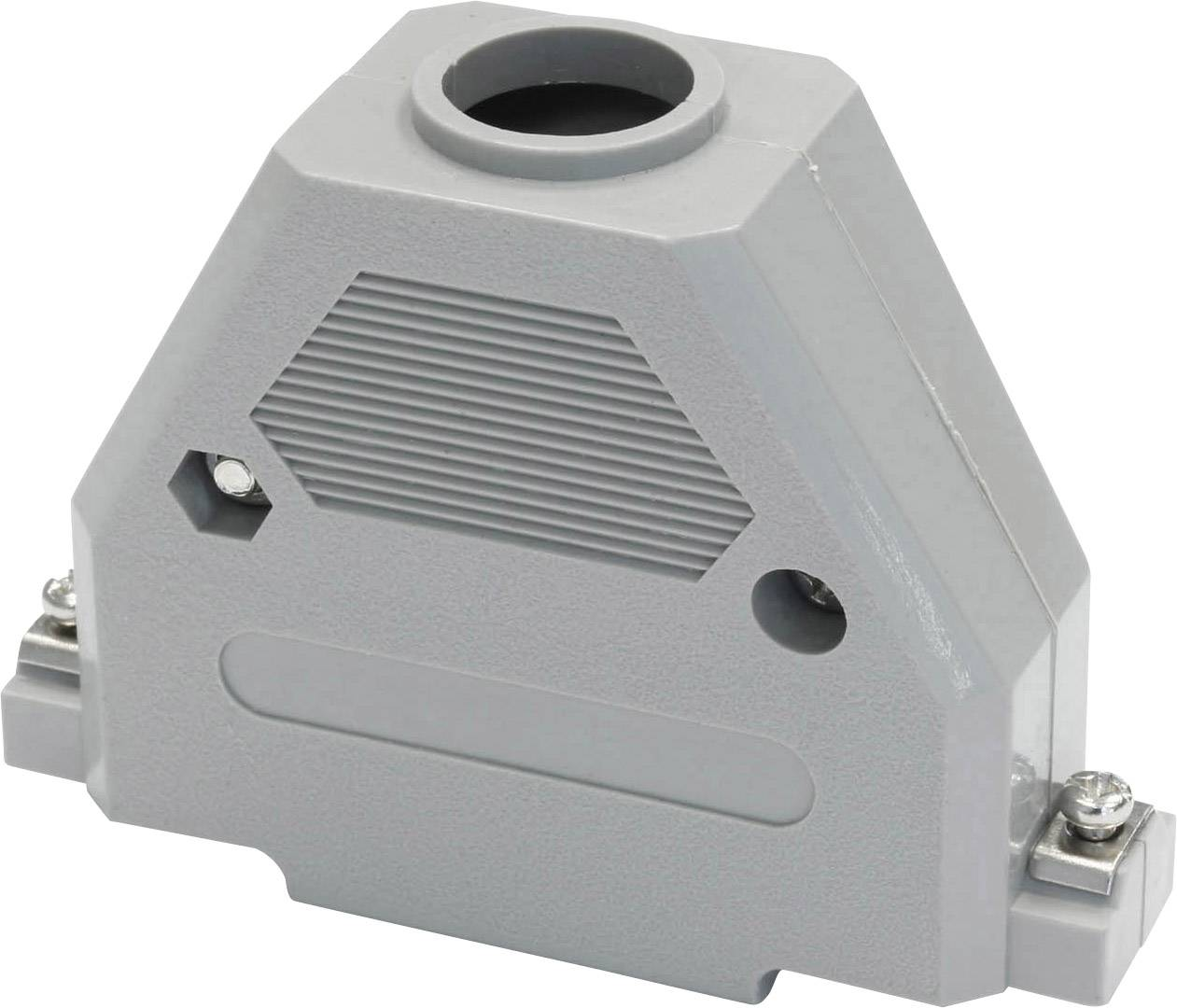 D-SUB pouzdro econ connect PH37, Pólů: 37, plast, 180 °, šedá, 1 ks