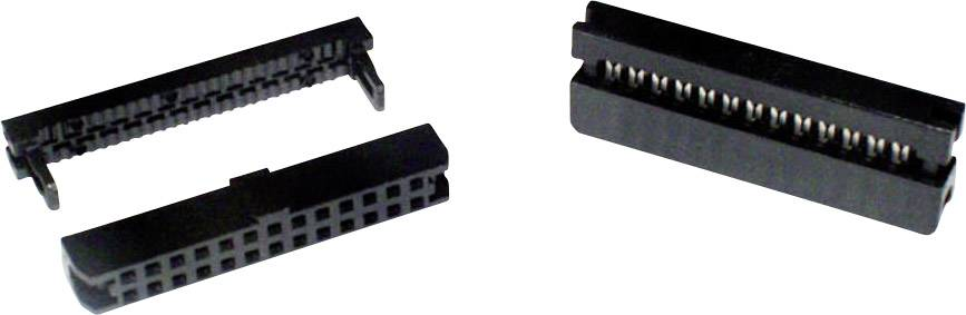 Zásuvková lišta econ connect, Rastr (rozteč): 2 mm, Počet pólů: 20, 1 ks