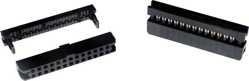 Zásuvková lišta econ connect, Rastr (rozteč): 2 mm, Počet pólů: 24, 1 ks