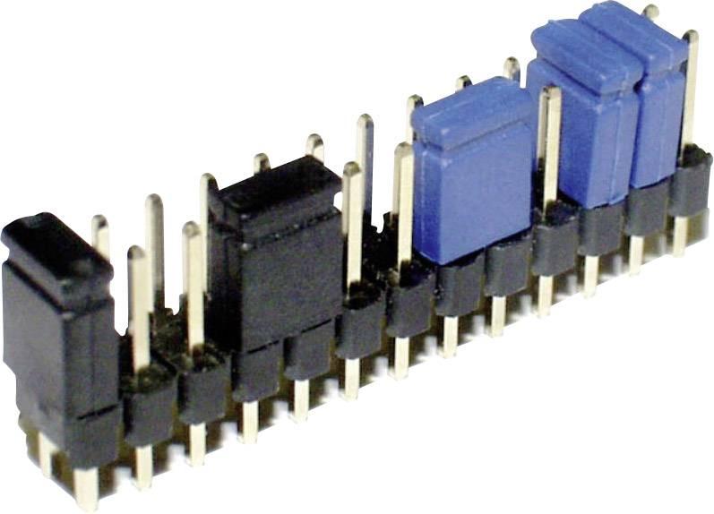 Zkratovací můstek econ connect SHSWG, Rastr (rozteč): 2.54 mm, černá, 1 ks