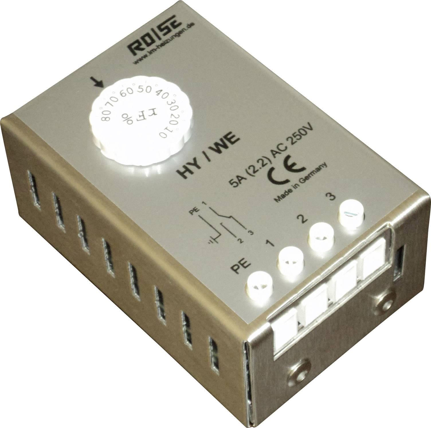 Hygrostat do skříňového rozvaděče Rose LM HY/WE HY/WE, 230 V/AC, 1 přepínací kontakt, (d x š x v) 95 x 63 x 43 mm
