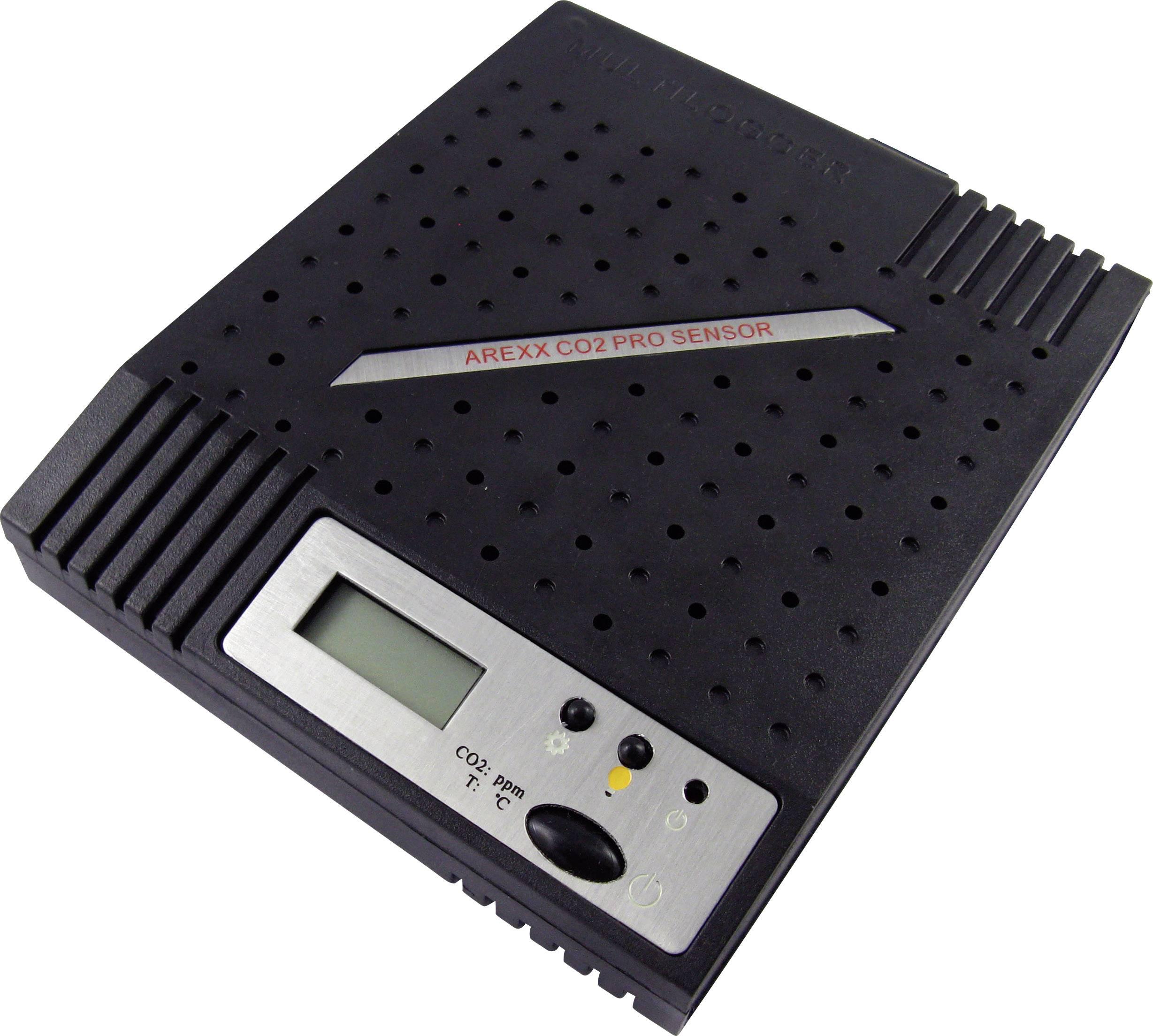 Multilogger s teplotným a CO2 senzorom Arexx PRO-CO2/5K, 0 - 5000 ppm