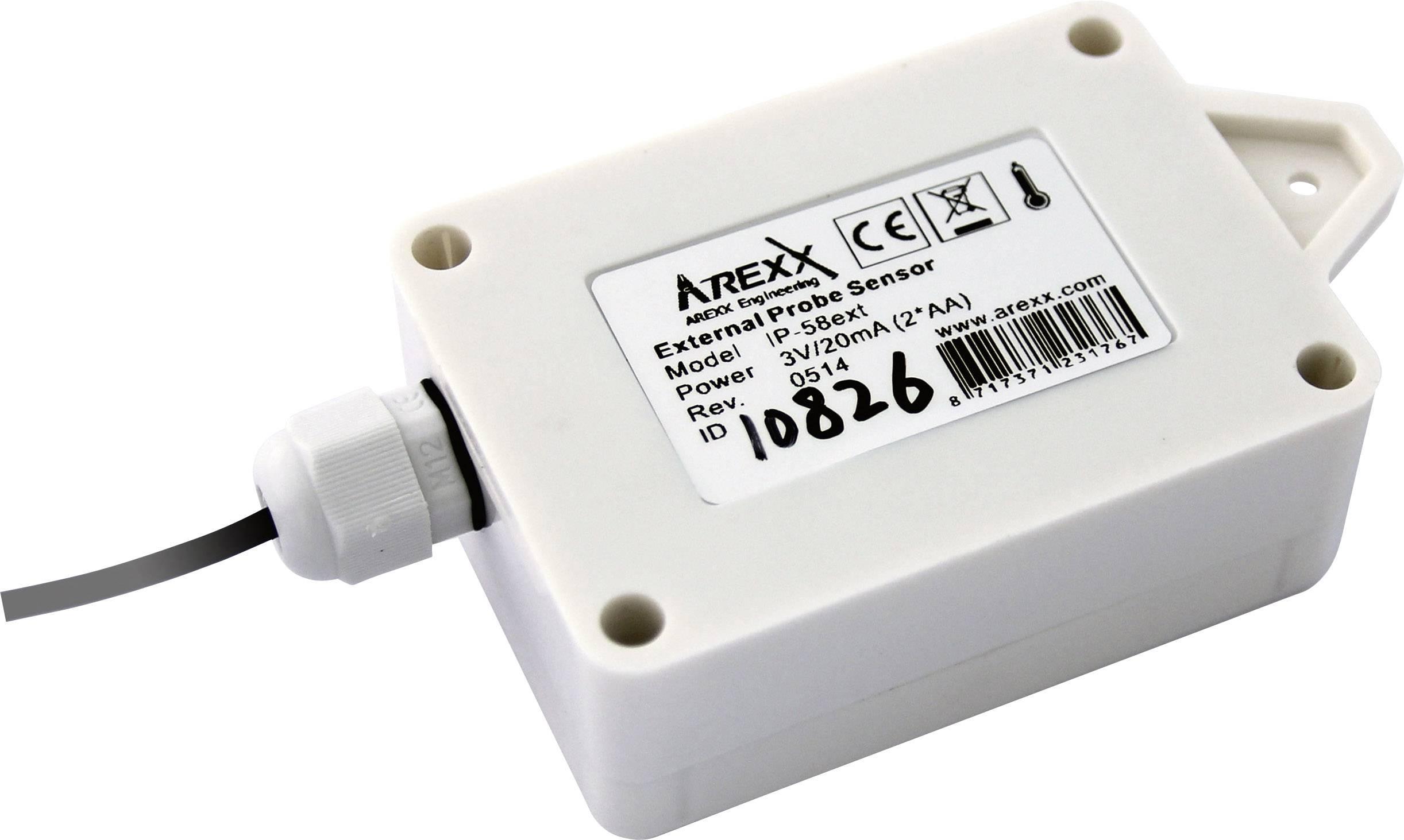 Bezdrôtový teplotný senzor Arexx IP-58EXT, IP66, + sonda