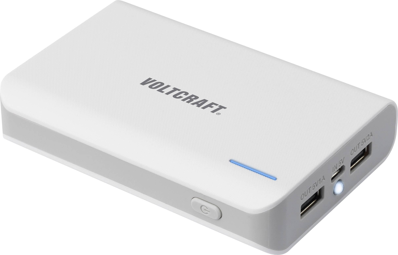 Powerbanka k nabíjení mobilu VOLTCRAFT PB-17 Li-Ion akumulátor 10400 mAh