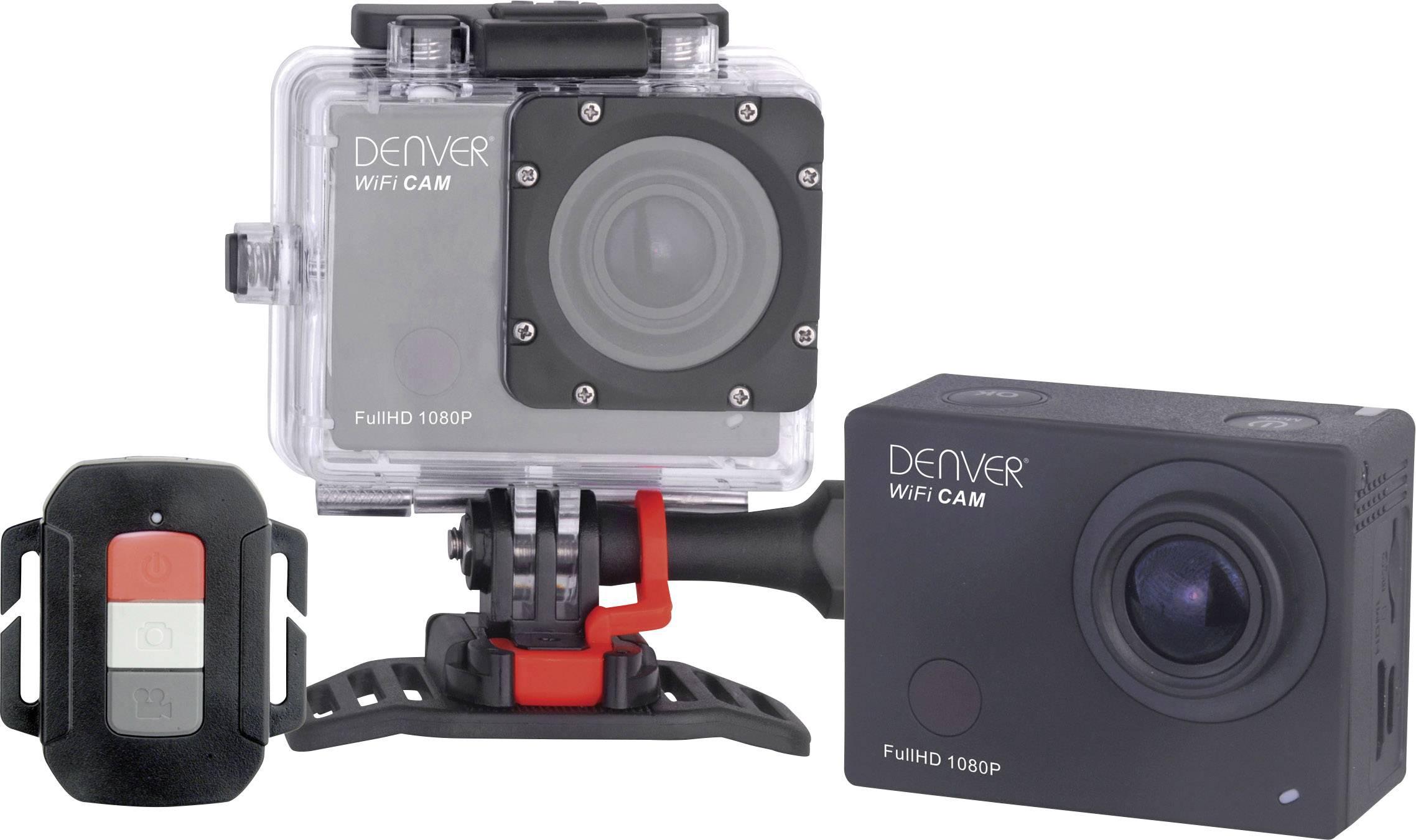 Športová outdoorová kamera Denver ACT-8030W s Full HD, Wi-Fi