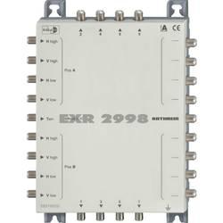 Kaskádový rozdělovač pro satelitní signál Kathrein EXR 2998 Vstupy (vícenásobný spínač): 9 (8 SAT/1 terestrický) Počet účastníků: 8