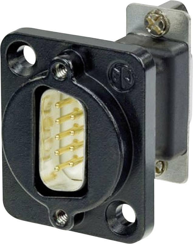 D-SUB adaptér Neutrik NADB9MF-B, počet pinov 9, 1 ks