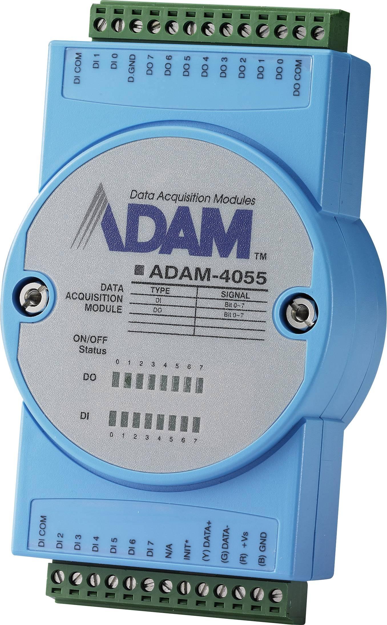 I / O modul DI/O, Modbus Advantech ADAM-4055, 12 V/DC, 24 V/DC