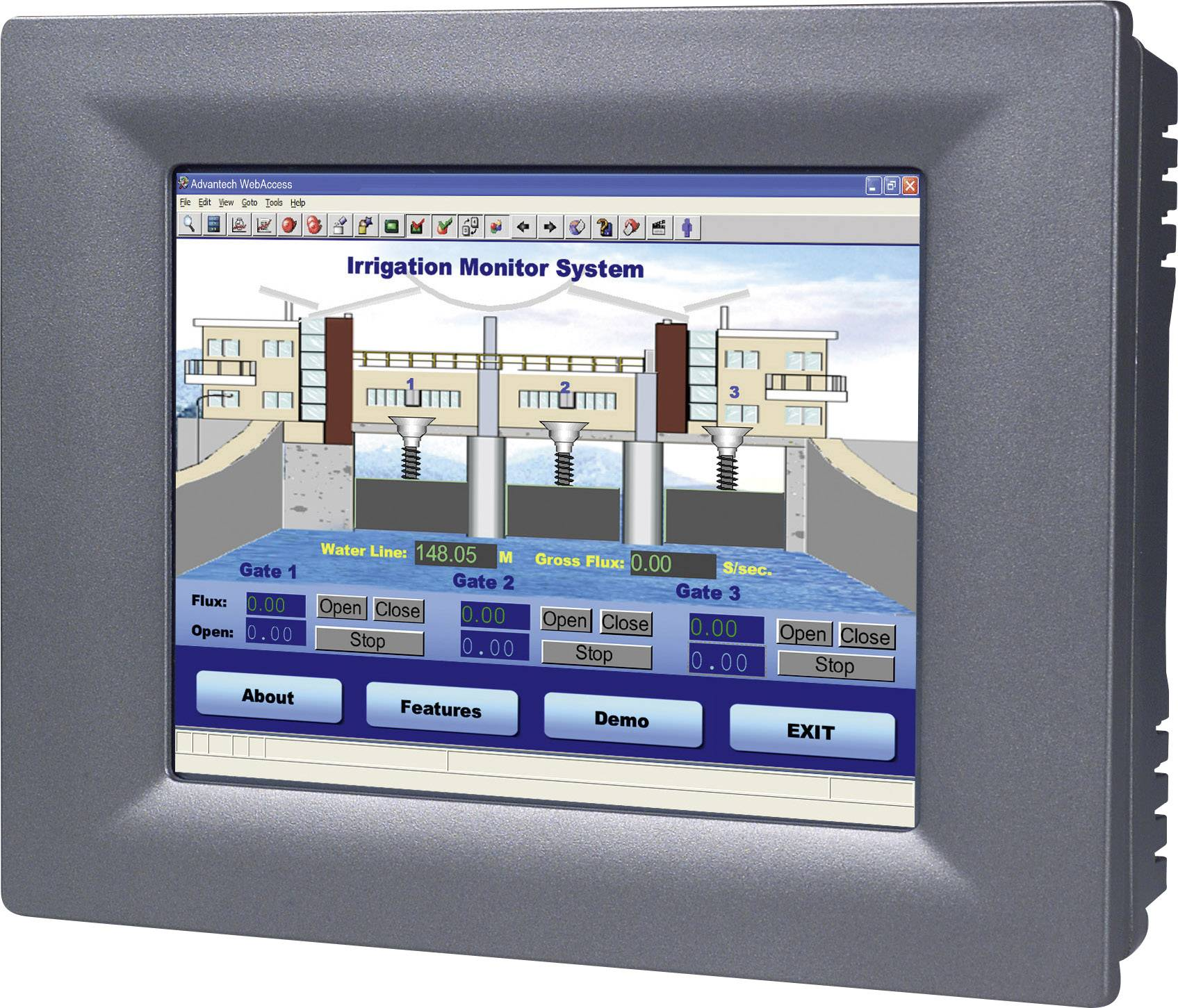 Dotykový panel RS-485 Advantech TPC-61T