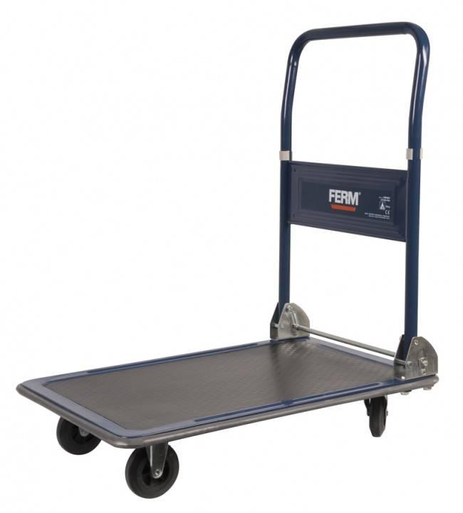 Plošinový vozík skládací ocel Zatížení (max.): 150 kg Ferm TTM1027