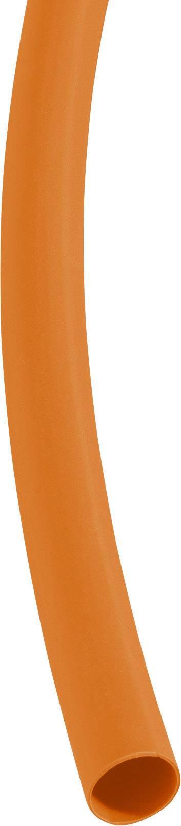 Zmršťovacia bužírka Dera (R) - Aj 3000 / ø pred / po zmrštení: 9,5 mm / 3 mm, oranžová