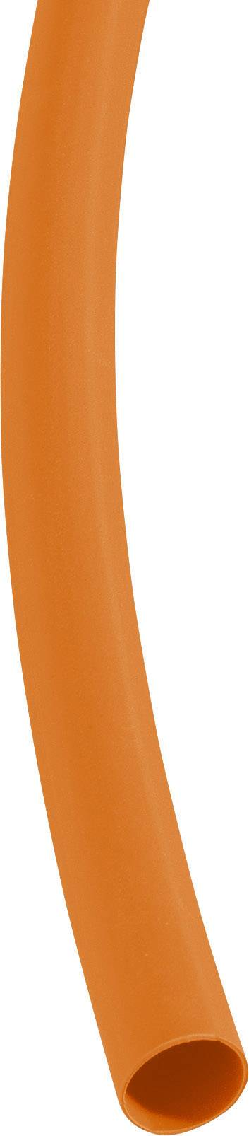 Zmršťovacia bužírka bez lepidla DSG Canusa 3290060203, 3:1, 6.40 mm, oranžová, metrový tovar