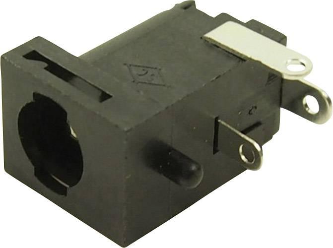Nízkonapěťový konektor Cliff FC681477, zásuvka, vestavná horizontální, 5.85 mm, 2.5 mm, 1 ks