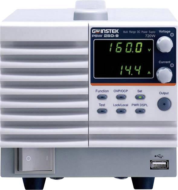 Laboratorní zdroj s nastavitelným napětím GW Instek PSW 250-9